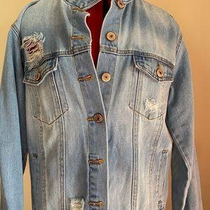 Embroidered Jean / Denim  Jacket